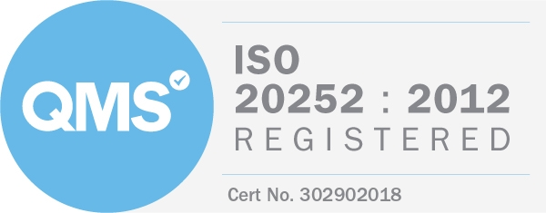 ISO 20252-2012 Market Research Accreditation Vision One