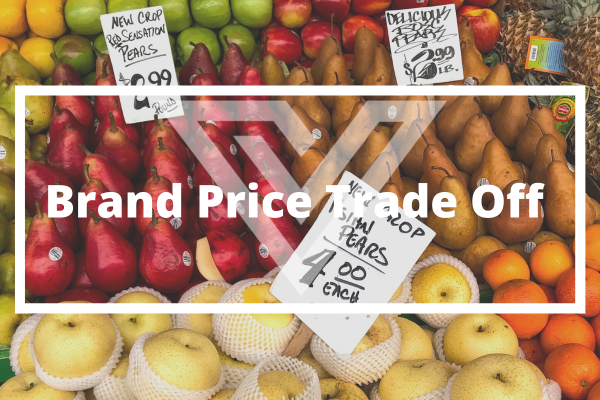 Brand Price Trade Off - Vision One Glossary