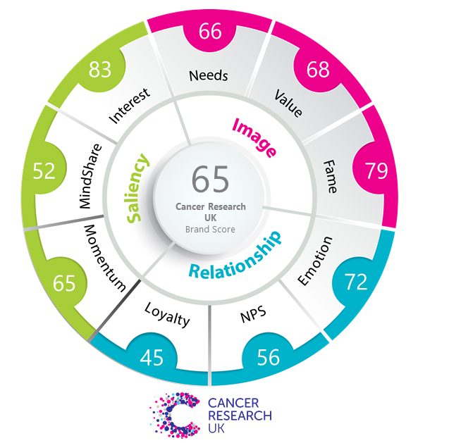 Brand Wheel Cancer Research Vision One