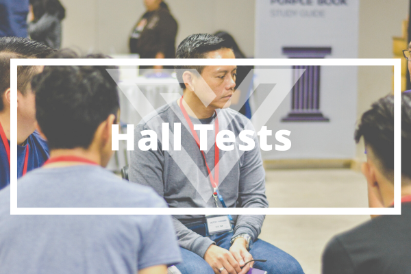 Hall Tests - Vision One Glossary