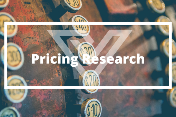 Pricing Research - Vision One Glossary
