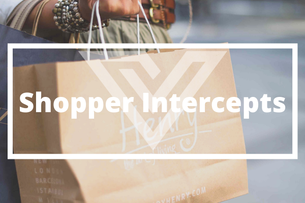 Shopper Intercepts - Vision One Glossary