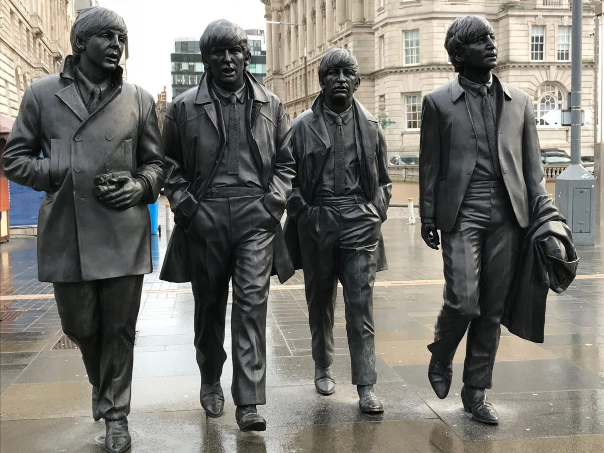 The Beatles Statue Vision One