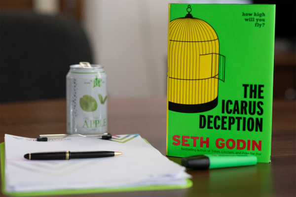 The Icarus Deception Book Review