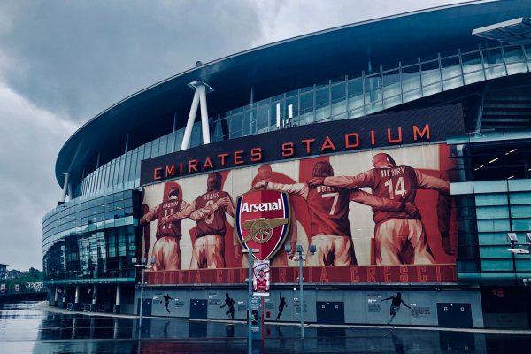 Tony Supports Arsenal
