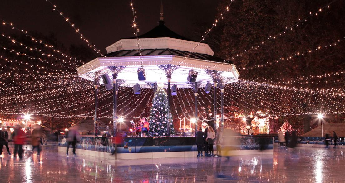 london hyde park christmas